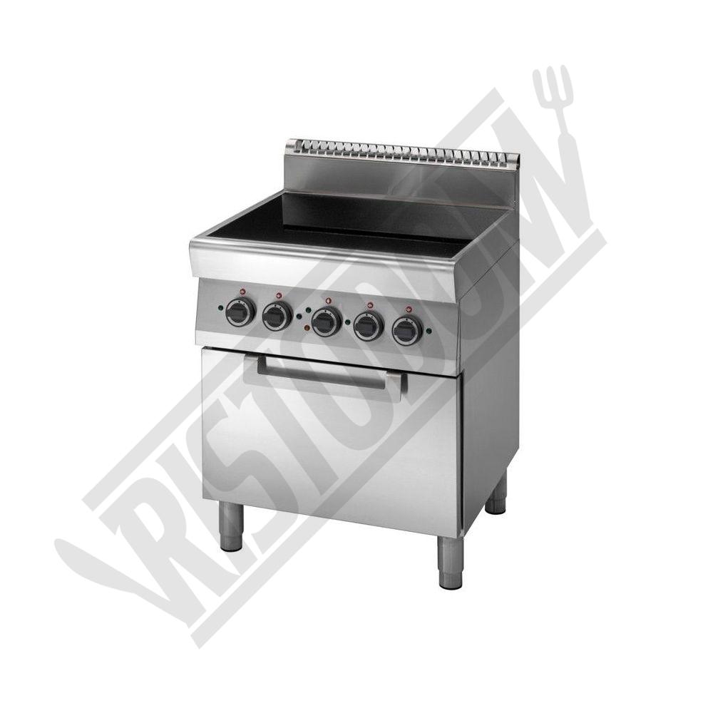Cucina elettrica piano di cottura in vetroceramica forno for Piano cottura cucina